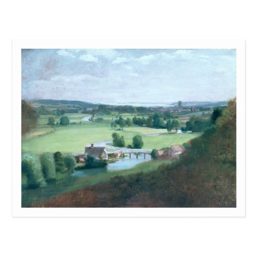 The Valley of the Stour with Dedham in the Distanc Postcards