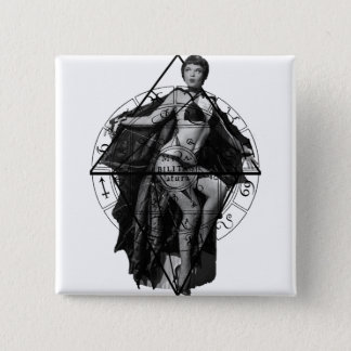 The Vampire 15 Cm Square Badge