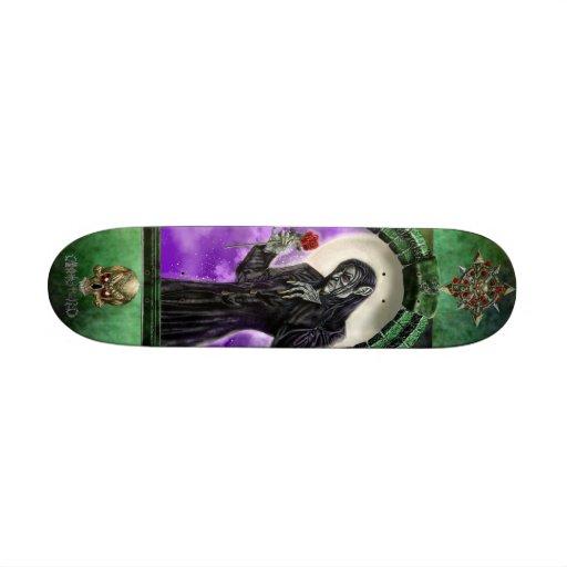 The Vampire and the rose Skate Decks