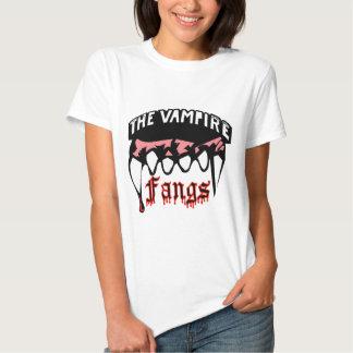 The Vampire Fangs Tee Shirts