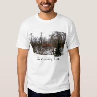 The Vanishing Train T-shirts