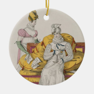 The Vapours or The Accounts Day, plate 62 from 'Le Christmas Ornament