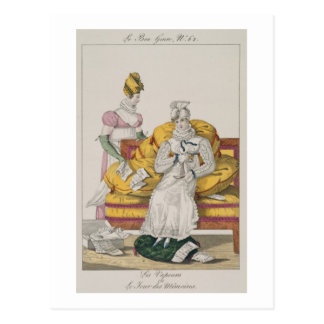 The Vapours or The Accounts Day, plate 62 from 'Le Postcard