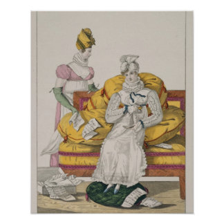 The Vapours or The Accounts Day, plate 62 from 'Le Poster