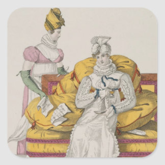 The Vapours or The Accounts Day, plate 62 from 'Le Square Sticker