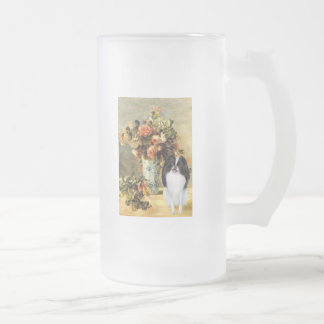 The Vase - Japanese Chin 2 Frosted Glass Beer Mug