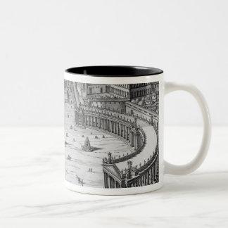 The Vatican, Rome Two-Tone Coffee Mug