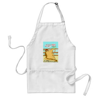 The Vegan Anteater And The Vegan Chocolate Covered Standard Apron