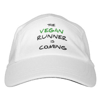 The vegan runner is coming hat