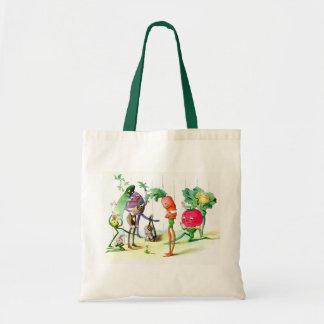 The Vege-Men's Revenge 2 Tote Bags