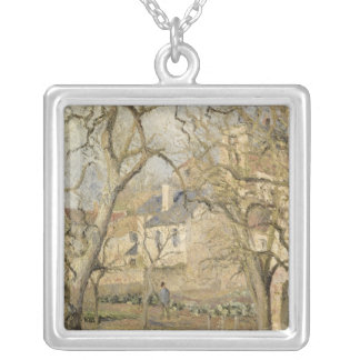 The Vegetable Garden, 1878 Silver Plated Necklace