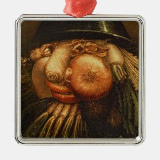 The Vegetable Gardener, c.1590 (oil on panel) Christmas Ornament
