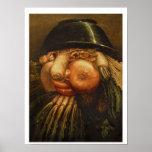The Vegetable Gardener, c.1590 (oil on panel) Poster