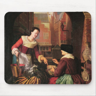 The Vegetable Seller Mouse Mat