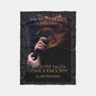 The Veil Diaries Book II Fleece Blanket