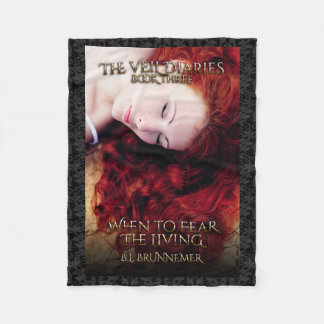 The Veil Diaries Book III Fleece Blanket
