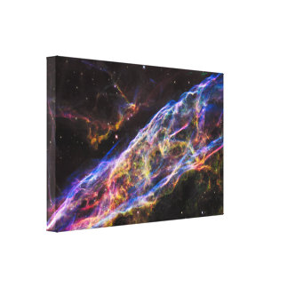 The Veil Nebula Canvas Print