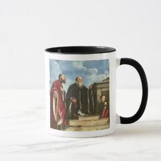 The Vendramin Family, 1543-47 (oil on canvas) Mug