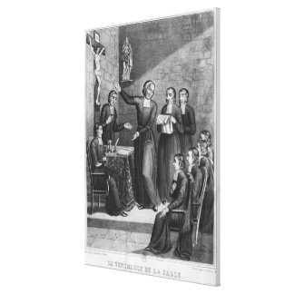 The Venerable Saint Jean-Baptiste de La Salle Canvas Print