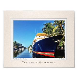 The Venice of America : Las Olas Isles Photo Art