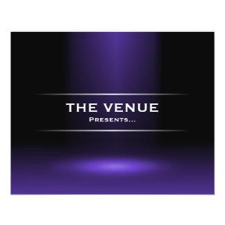The Venue Presents - Indigo Blue Flyer