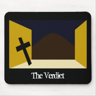 The Verdict Mouse Pad