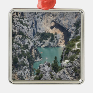 The Verdon Gorge, in south-eastern France Christmas Ornament