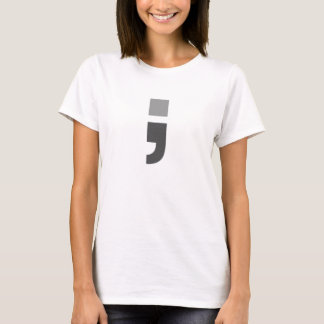 The versatile semicolon T-Shirt