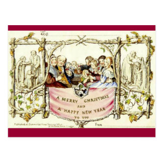 The Very First Christmas Card (1843)