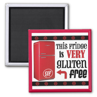 The Very Gluten-Free Fridge Magnet