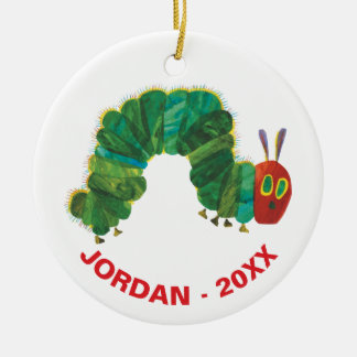 The Very Hungry Caterpillar | Name & Year Christmas Ornament