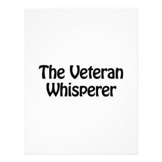 the veteran whisperer 21.5 cm x 28 cm flyer