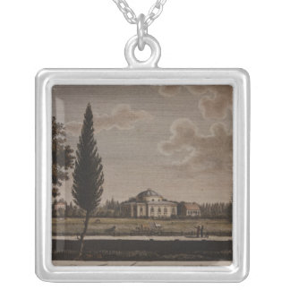 The Veterinary School, Berlin, 1795 Silver Plated Necklace