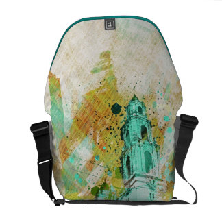 the Vibrant MissionDolores of SanFrancisco Courier Bags