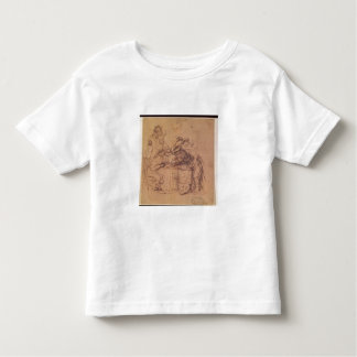The Vices of the Prodigal Son (pen and ink on pape Toddler T-Shirt