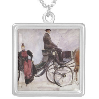 The Victoria, c.1895 Silver Plated Necklace