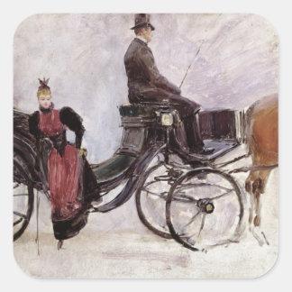 The Victoria, c.1895 Square Sticker