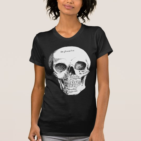 The Victorian Ladies Skull T-shirt