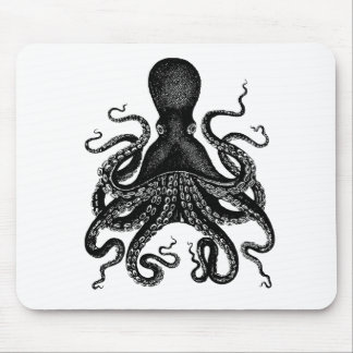 The Victorian Octopus Mouse Mat