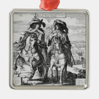 The Victories of Louis the Just, 1627 Christmas Ornament