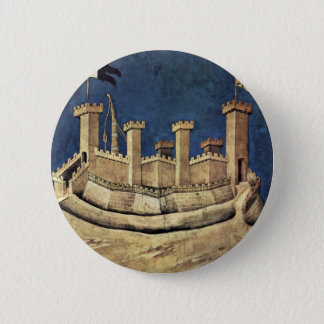 The Victorious General Guiddo Riccio Da Fogliano 6 Cm Round Badge