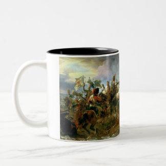The Victory of Austerlitz Two-Tone Mug