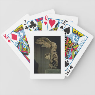 The Victory of Samothrace (Parian marble)  (see al Bicycle Playing Cards