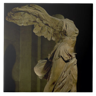 The Victory of Samothrace (Parian marble) (see als Tile