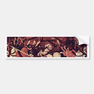 The Victory Over Bernardino Della Ciarda By Uccell Bumper Sticker