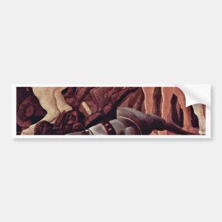 The Victory Over Bernardino Della Ciarda Detail Bumper Sticker