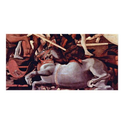 The Victory Over Bernardino Della Ciarda Detail Customized Photo Card