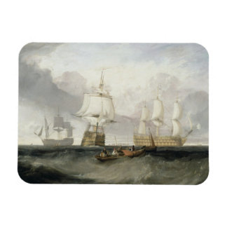 The Victory Returning from Trafalgar 1806 oil Magnet