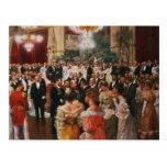 The Viennese Ball Postcard