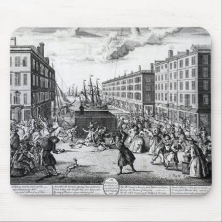 The View and Humours of Billingsgate, 1736 Mouse Pad